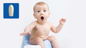 Glycerinekaarsen voor pasgeborenen