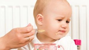Wat als het kind geen aanvullend voedsel eet?