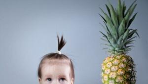 Op welke leeftijd kan ananas aan een kind worden gegeven?