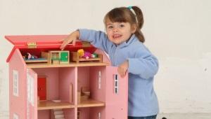 עשה זאת בעצמך בתים בובה עשוי עץ לבוד, קופסאות וחומרים אחרים