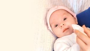 قطرات العين بالمضادات الحيوية للأطفال