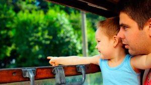 Ako vziať dieťa do vlaku?