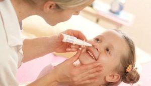 قطرات مضيق للأنف للأطفال