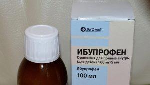 Ibuprofen Suspension: تعليمات للاستخدام للأطفال