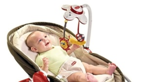Columpio electrónico para recién nacidos.