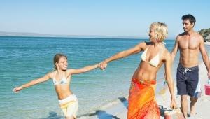Zvyšok s deťmi na Kryme