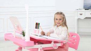 Tavolo da bambino regolabile in altezza