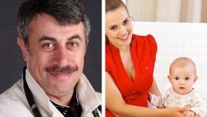 Dr. Komarovsky: wanneer een kind moet zitten en hoeveel maanden kunnen meisjes gaan zitten