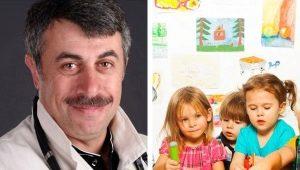Dr. Komarovsky over de kleuterschool