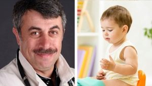 Dr. Komarovsky à propos de la diarrhée chez un enfant