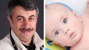 Dr Komarovsky over het baden van een pasgeborene