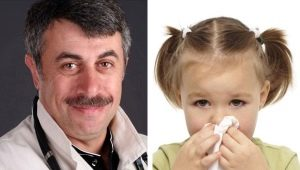 Dr. Komarovsky sul trattamento della rinite in un bambino