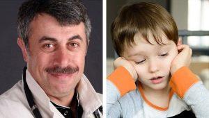 الدكتور كوماروفسكي حول وسائل ORVI للأطفال