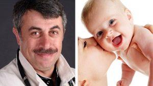 Dr. Komarovsky over de ontwikkeling van pasgeborenen en zuigelingen maandenlang