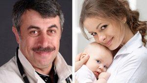 Dr. Komarovsky over het regime van de dag bij een kind