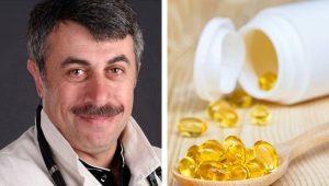 Dr Komarovsky over visolie voor kinderen