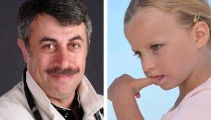 Dr Komarovsky over wat te doen als een kind zijn nagels bijt