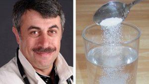 Dr. Komarovsky over hoe je een rehydron voor kinderen thuis kunt maken