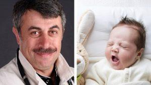 Dr. Komarovsky over hoe de baby in slaap te vallen