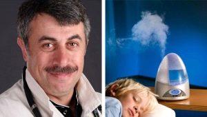Dr. Komarovsky over hoe een luchtbevochtiger te kiezen