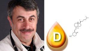 Dr Komarovsky over vitamine D