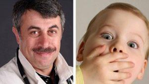 Dr. Komarovsky over de geur van aceton uit de mond van een kind