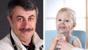 Dokter Komarovsky over inhalaties