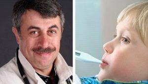 Dokter Komarovsky over SARS