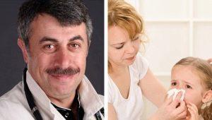 Dr Komarovsky over verkoudheid bij kinderen