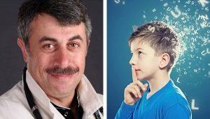 Stotteren bij kinderen: oorzaken en behandeling volgens Komarovsky