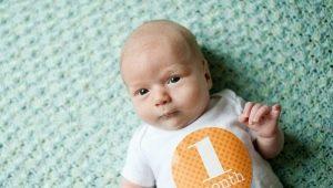 สิวบนใบหน้าและร่างกายของทารกแรกเกิดและทารก