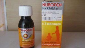 تعليق Nurofen للأطفال: تعليمات للاستخدام