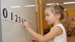 Cum să înveți un copil să numere exemple cu numere în termen de 10?