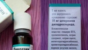 قطرات Parlazin للأطفال: تعليمات للاستخدام
