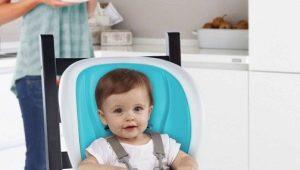 Posto sulla sedia per l'alimentazione del bambino