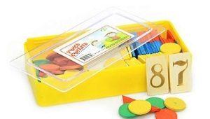 Numărarea materialului pentru predarea copiilor