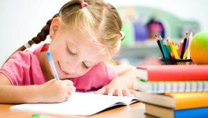 Învățați să scrieți numărul 1 împreună cu copilul