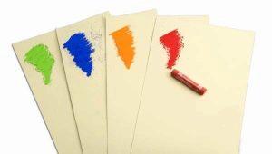 กระดาษสีพาสเทล: คุณสมบัติของตัวเลือก