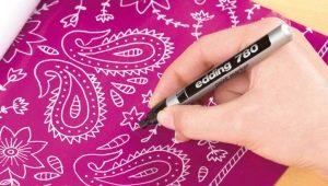 รู้สึกว่าปากกาสำหรับผ้า
