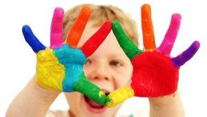 Finger paints: ข้อดีและคุณสมบัติของการใช้งาน