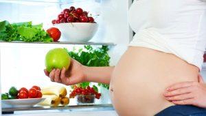 تغذية المرأة الحامل في الثلث الثالث