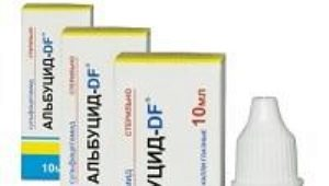البوكيدوم (سولفاسيل الصوديوم) للأطفال: تعليمات للاستخدام