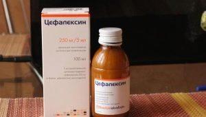 Cefalexin للأطفال: تعليمات للاستخدام