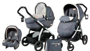 Kereta bayi: pelbagai model dan ciri pilihan