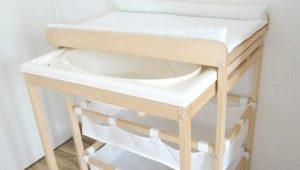 Fasciatoio con vasca: caratteristiche e selezione