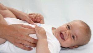 วิธีการนวดทารก 6-8 เดือน?