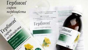 استخدام Herbione syrup في علاج السعال عند الأطفال