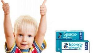 القصبات munal للأطفال: تعليمات للاستخدام