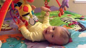 Cosa fare se un bambino non tiene la testa a 4-5 mesi?