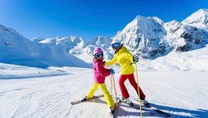 Bagaimana untuk memilih ski kanak-kanak?